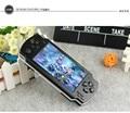 4.3 pulgadas de pantalla 8 GB de memoria MP4 MP5 Jugador Del juego de mano Consola de Juegos 4000 juegos gratis de libros electrónicos de apoyo/TV-out/video1.3 MP Cámara