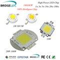 LED de alta Potência Bridgelux chip de 45mil 3 W 5 W 10 W 20 W 30 W 50 W 100 W Quente Natural Pure Cool White 180LM/W COB Integração Lâmpadas