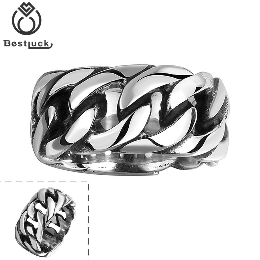 Wholesale Price Vintage 316L Stainless Steel Male Rings Cool gift For Friend Fashion Jewelry Black Friday Overwatch Ring Men