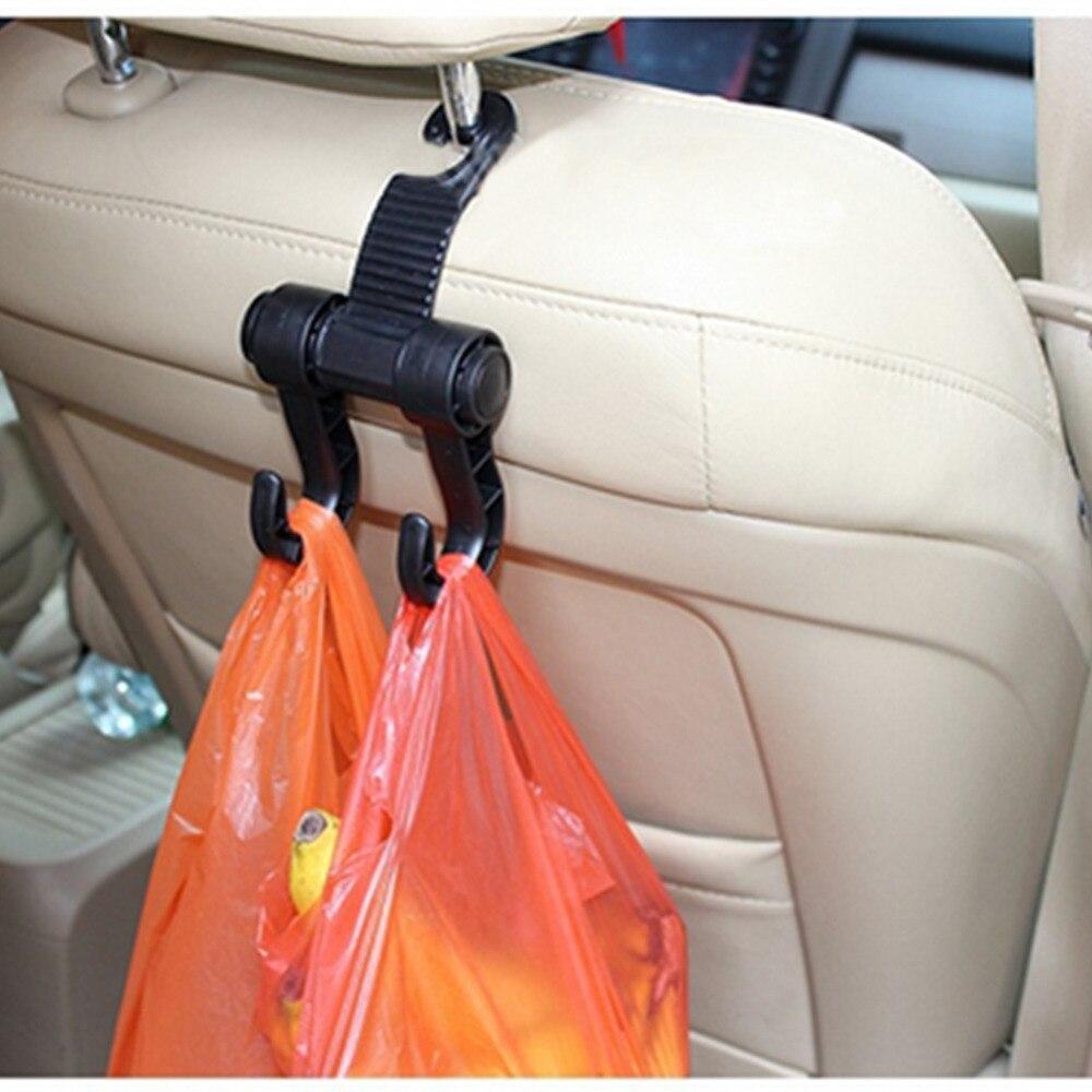 Hot Selling Car Seat Back Storage Hook Sundries Hanger Bag Holder Universal Multifunction Fastener Clip Portable In Holders Racks