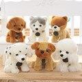 Kawaii Dog Puppy Plush Toys Poodle Husky Shunsuke Shar-Pei Dalmatians Cibotium Pets Stuffed Dolls Lying/Sitting Styles