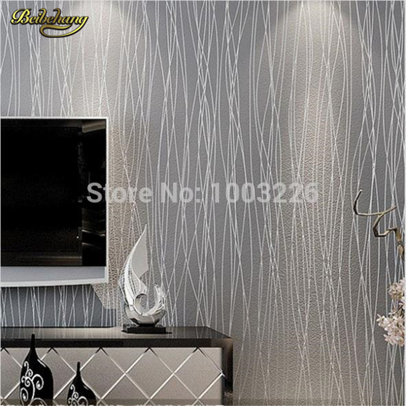 beibehang wallpaper roll Thin Flocking Vertical Stripes Wallpaper For living room Sofa background wall paper mural contact paper beibehang shop for living room bedroom mediterranean wallpaper stripes wallpaper minimalist vertical stripes flocked wallpaper