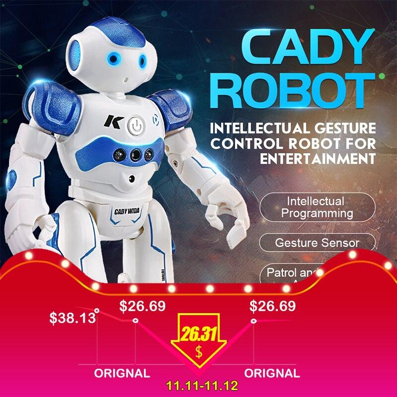 RC Robot Programmation Intelligente Télécommande Jouet Robot Bipède Humanoïde Robot Pour Enfants Enfants D'anniversaire Cadeau robot chien pet