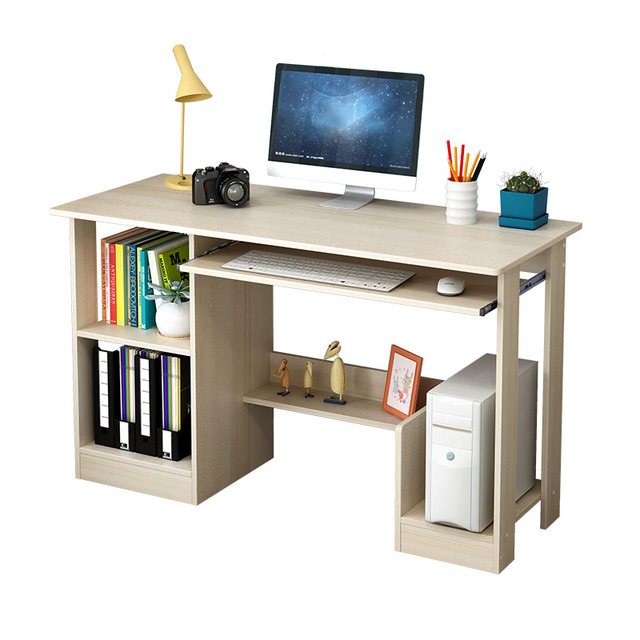 Simple Computer Desk Modern Office Student Writing Studying High Quality Learning Table Home Furniture