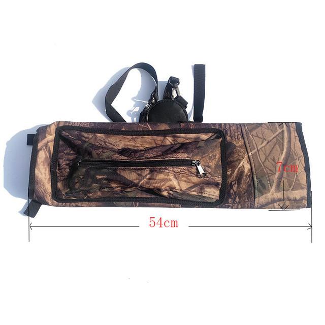 1pc Archery Bow And Arrow Shoulder Arrow Quiver Pouch Arrow Bow Holder Camo Arrow Holder Hunting Accessories