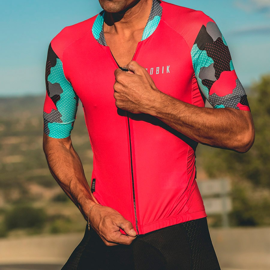 2018 Red Pro Team kurzarm Radfahren jersey Fahrrad tragen sommer Breathable männer maillot ropa ciclismo mtb Fahrrad kleidung