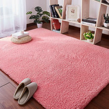 Lamb velvet carpet living room coffee table blanket bedroom bedside mat tatami kindergarten cushion children crawling rug(China)