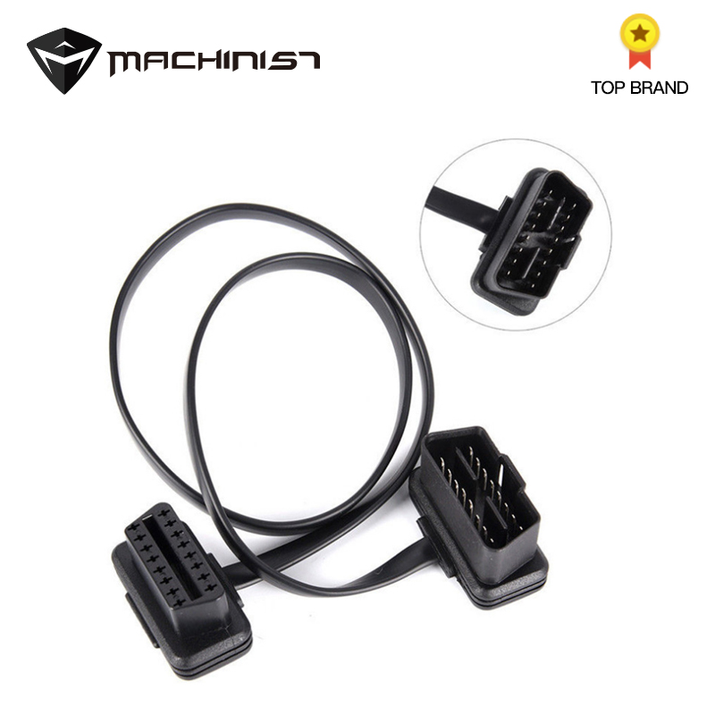 Cable 16 Pin 8-core OBD 2 Splitter Adapter Extension Cable Male To Female Connector OBD2 Extended Interface Line