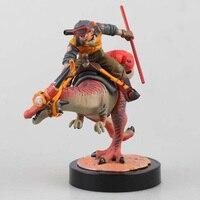 15cm Desktop Real McCoy Dragon Ball Z Action Figures Son Gokou Ride Shenron PVC Action Figure