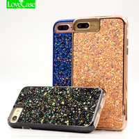 2017 Latest 3D Shining Phone Cases For Iphone 7 7Plus Top Quality Hard PC Soft TPU