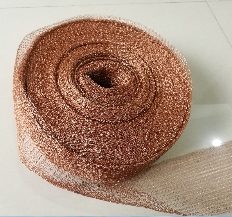 Copper Mesh For Distillation  Copper Packing  Length 0.5-150m Width 10cm  Wire Diameter 0.25mm T2  Copper