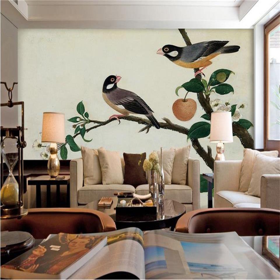 Apple Living Room Specialist: Custom Size 3d Photo Wallpaper Living Room Mural Apple