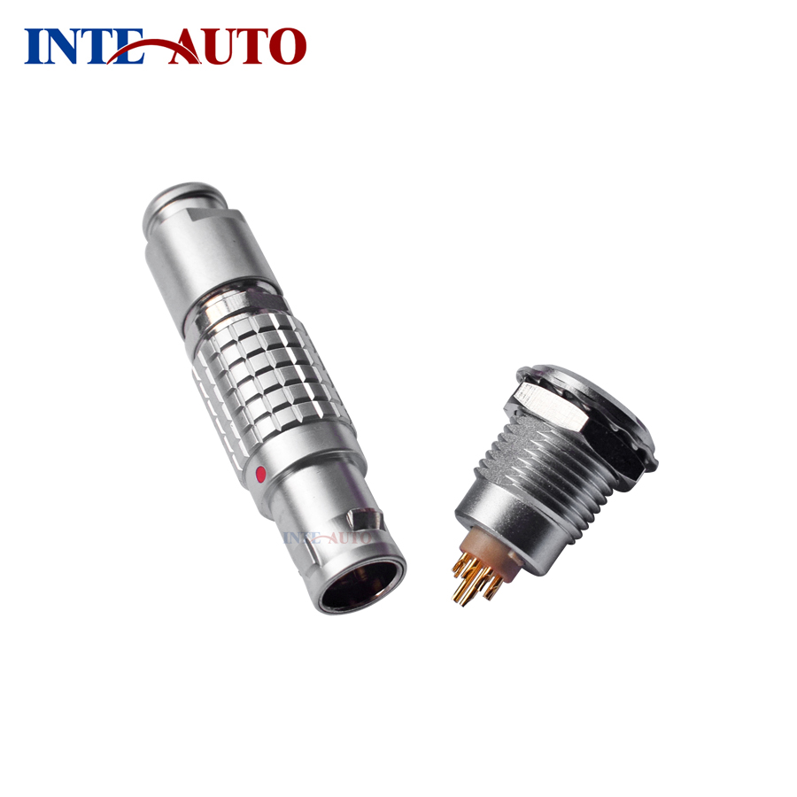 Replace ODUs M12 connector,12 pins metal wire plug and socket ,1B series,Brass body,FGG.1B.312  EGG.1B.312 50cm red line camera led monitor elbow to head straight fgg 1b 16 pin plug to fhg 1b 16pin connectors plug