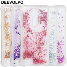 Case For ZTE ZMax Pro Z981 Z 981 Pro2 Z982 982 Silicone Transparent Soft Clear Love Liquid Anti-knock Cover Capa DP03F