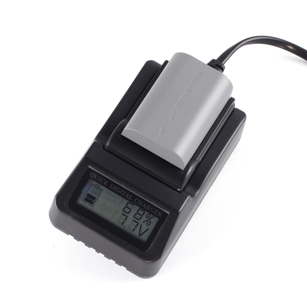 Lp E6 Camera Li Ion Battery Pack Charger With Lcd Display For Canon Lithium Variable Current Up To 2a By L200 7d 60d 6d 70d 5d Mark Ii Iii 5ds In Photo Studio Accessories From Consumer Electronics