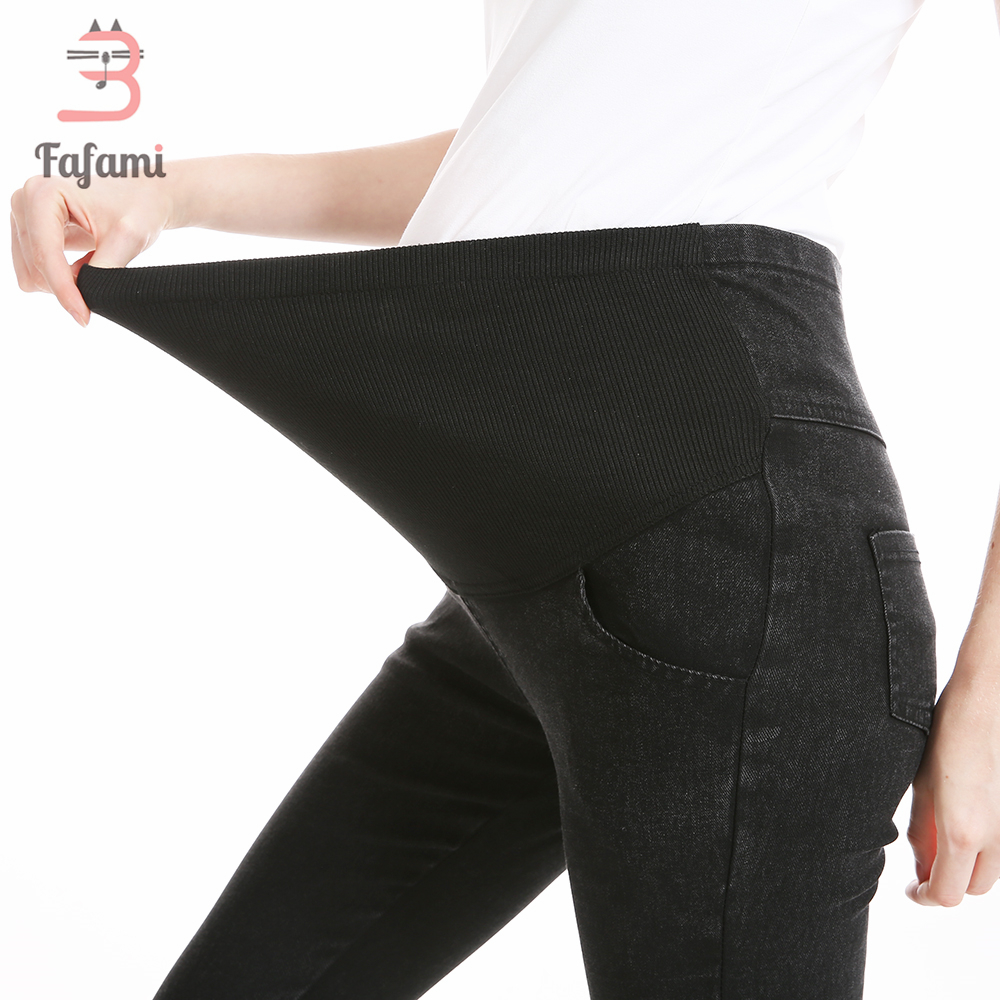 49bd2db79dc45 Maternity Jeans Skinny Pants Capris for pregnant women Plus High waist  leggings pregnancy clothes winter maternity clothing -in Pants   Capris  from Mother ...