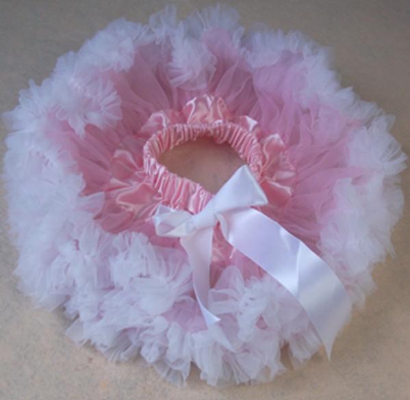 Детские юбки-пачки розовый шифон новорожденных юбка туту юбка новорожденных фотографии юбка-пачка - Цвет: Белый