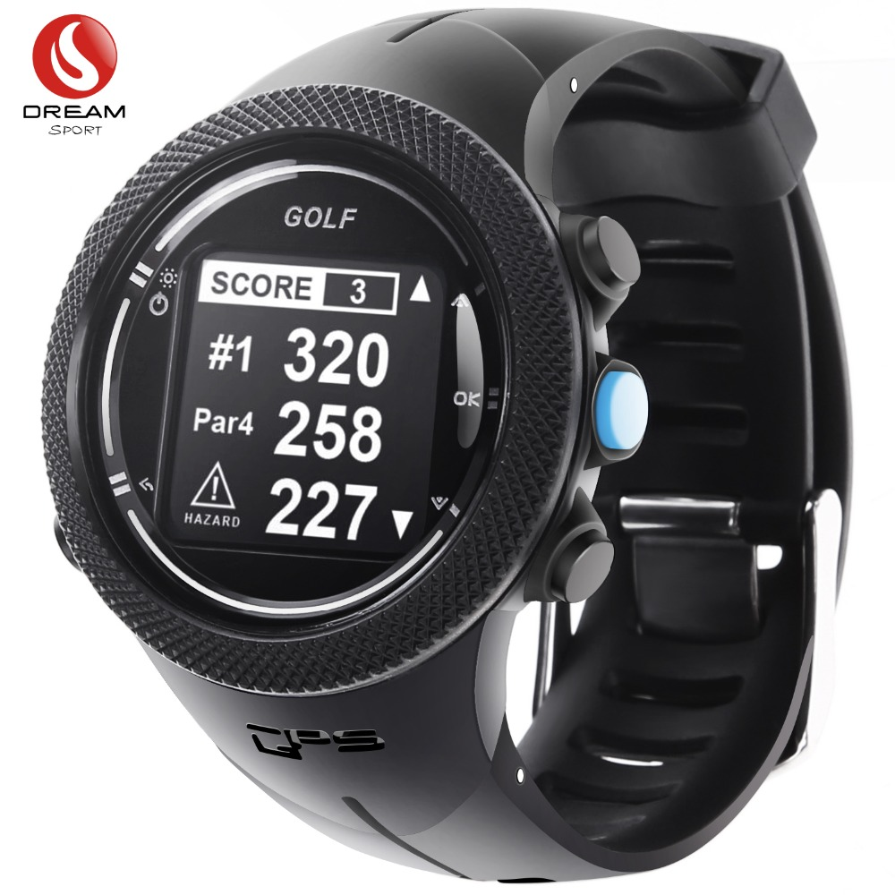 Dream Sport GPS Golf Watches for Men World Wide Course Map Update In Real Time Whosales Dropshipping stylish hemming wide striped and world map printing voile scarf for women