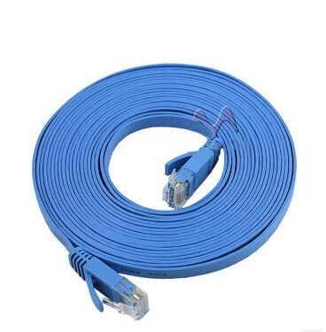 New 30M  CAT6 CAT 6 Flat UTP Ethernet Network Cable RJ45 Patch LAN Cord wholesale With tracking number