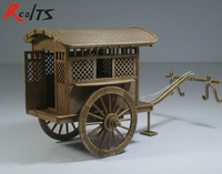 Chinese Ancient Horse Drawn Vehicle Series Qin And Han Dynasties Gharry Model Sidecar Assembly Kit