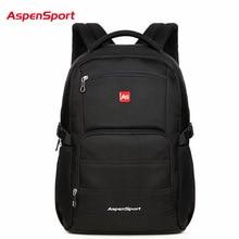 AspenSport Top Brand Waterproof Fashion Backpack Unisex Men s Backpacks for Laptop Women Notebook Bag Backpack