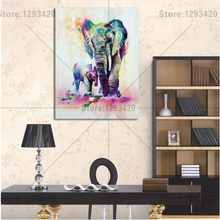5D diamond embroidery square sets full decorative diy painting Watercolor elephant cross stitch crystal