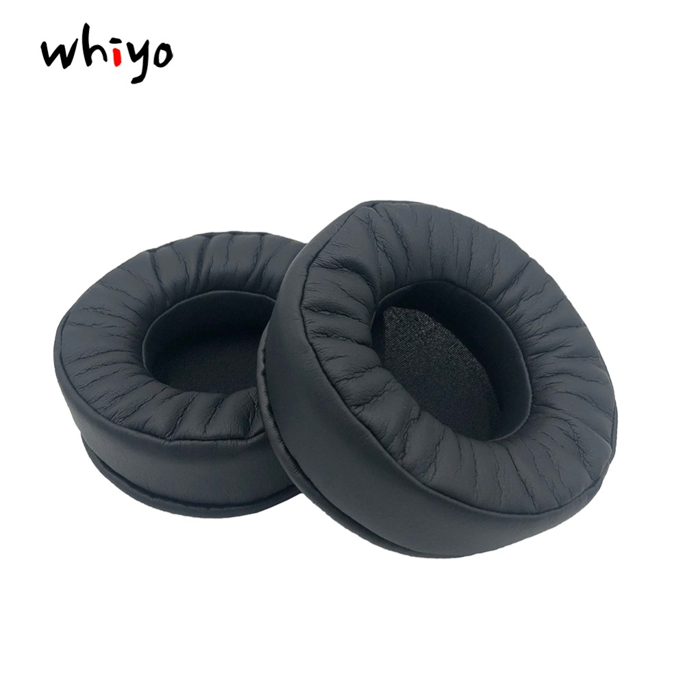 1 pair of Memory Foam Protein Leather Earpads Replacement Ear Pads Spnge for Superlux HD681EVO <font><b>HD668B</b></font> HD669 HD662 HD662B Headset image