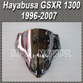 New Silver For Suzuki Hayabusa GSXR 1300 Windshield/Windscreen 1996-2007 99 00 01 02 03 04  Motorcycle Accessories