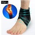 Befusy 1 pc compressão tornozelo protetores anti entorse basquete ao ar livre futebol tornozelo cinta suporta tiras bandagem envoltórios