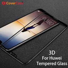 Tempered Glass For Huawei P20 Pro P20 Lite 3D Curved Edge Full Cover Front Screen protector Film Tempered Glass For Huawei P20 все цены