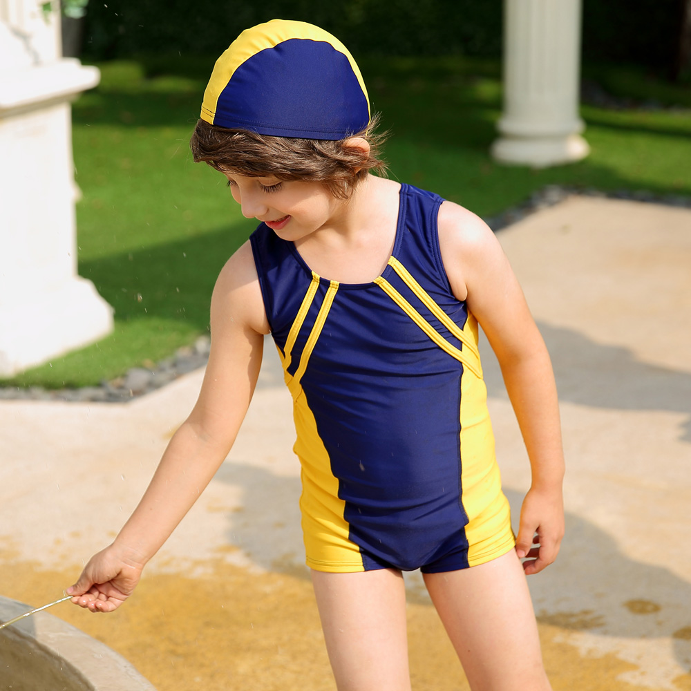 What Is A Spandex Swim Cap Boys Kids Swim Suit Swimwear
