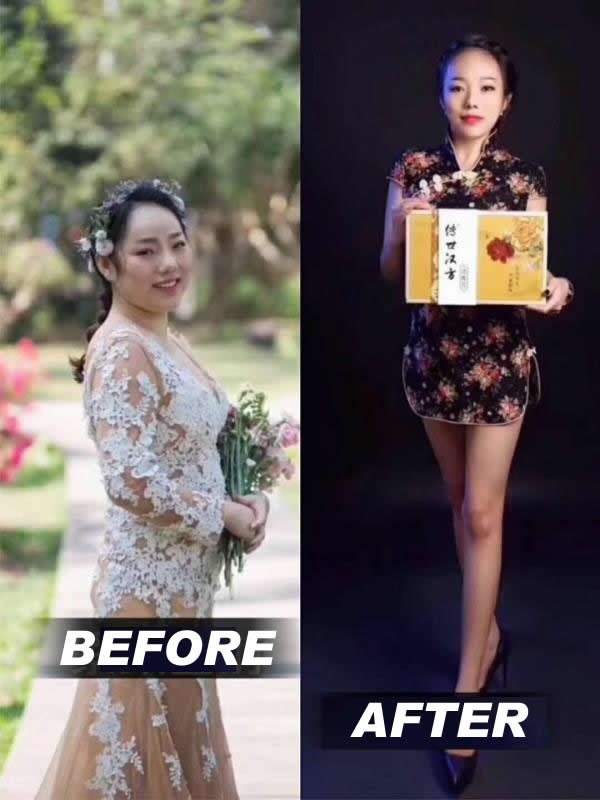 Chinese Herbal Medical Powder for Loosing Weight Keep Fitness Health Care Heating Slim Machine