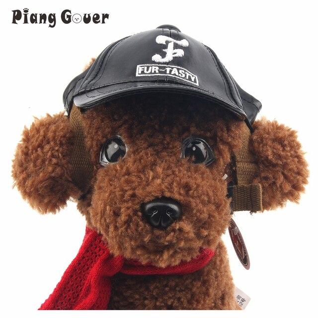 71c543c6748 Dog Hat With Ear Holes Gorro Perro Summer Canvas Cachorro Baseball Cap Dog  Hats For Pets