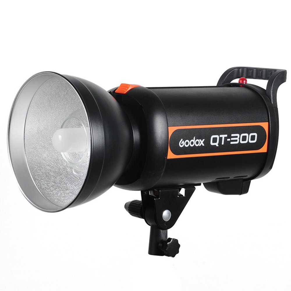 <font><b>Godox</b></font> QT-<font><b>300</b></font> QT300 300W High Duration 1/5000s AC200-240V Studio Flash Strobe Light image