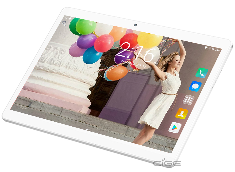 CIGE 10.1 inch Octa core tablet PC Android 6.0 4G LTE RAM 4GB RAM 64GB ROM 1920×1200 IPS GPS Bluetooth tablets DHL free shipping