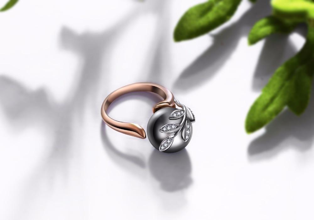 rose gold ring sets