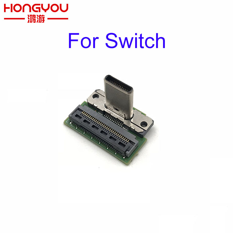 Original Replacement Type-C Charging Port Socket Replacement For Nintend Switch NS SWITCH Game Console