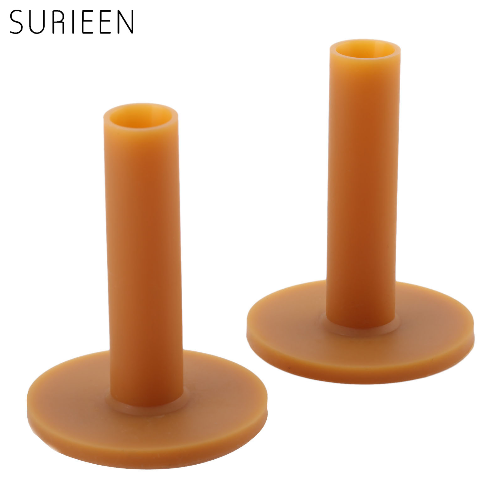 SURIEEN 1Pc Rubber 70mm Golf Tees Friction Hold Driving Range Practice Golf Ball Holder Trainer Training Tool Golfer Accessories
