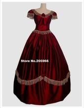 1800s Civil War Ball Gown Or Bridal Period Dress&Steampunk Bridal Gown/ Vintage dress