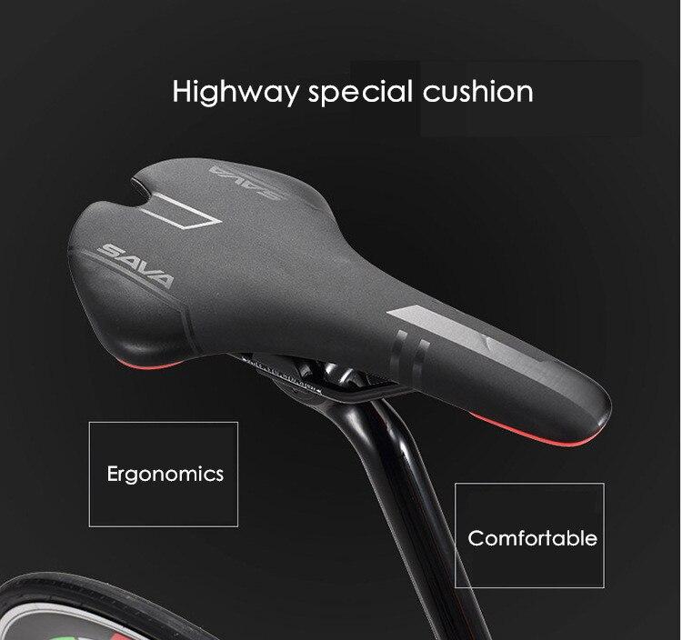 Asli X-Depan merek sepeda serat karbon jalan penuh 18 20 22 kecepatan - Bersepeda - Foto 6