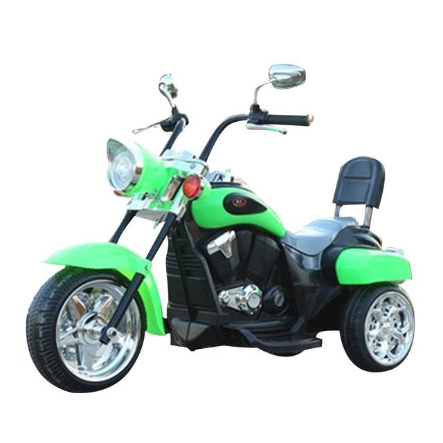 Venta caliente de Los Niños Puede Sentarse Coche de Juguete Motocicleta Eléctrica de Tres Ruedas Eléctrica con Música Niños Harley Motocicleta WW0076