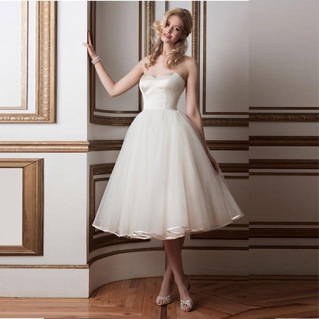 87fb09e6e3326 Vestidos novia corto 2016 Sexy de encaje sin espalda vestido de boda del  tren del vestido