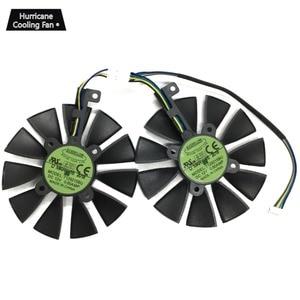 Image 2 - 2 יח\חבילה T129215BU T129215SU VGA GPU Cooler GTX 1070 GTX 1060 כרטיס הגרפי ASUS כפולה GTX1060 GTX1070 וידאו כרטיס קירור