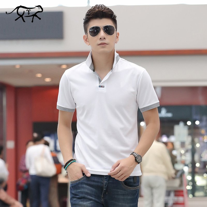 Summer   Polo   Men Shirt New Brands 2019 Fashion Short Sleeve Tops For Man Jerseys Slim Quick Dry   Polo   Shirts Male Plus Size M-4XL