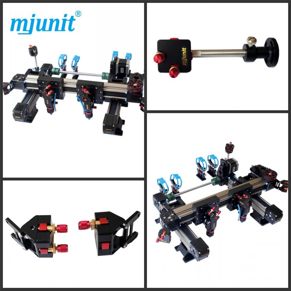 mjunit low noise 1410 laser cutter double - head optical path kit