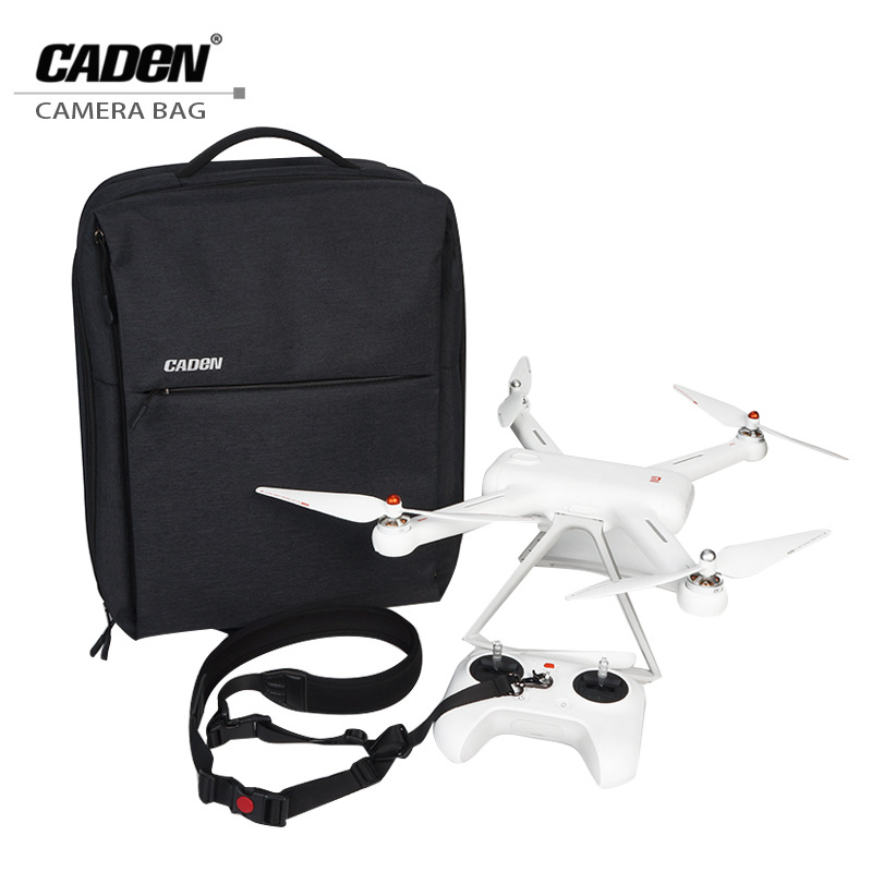 CADeN Drone Bag for Xiaomi Multifunctional Business Travel laptop Backpacks Waterproof Nylon Drones Backpack Cases for MI UAV W8 original xiaomi 4k drone bag backpack multi functional business travel backpacks with 26l for 15 6 inch computer laptop mi drone