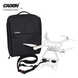 CADeN Drone Bag for Xiaomi Multifunctional Business Travel laptop Backpacks Waterproof Nylon Drones Backpack Cases for MI UAV W8