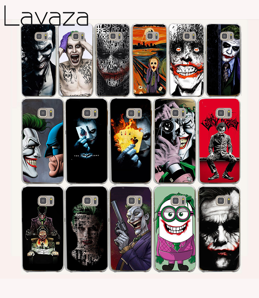 Lavaza 39O Joker Batman The Killing Joke Hard coque Case for Samsung Galaxy S7 S6 S5 S4 S3 S2
