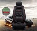 (Frente + Traseira) Couro especial tampas de assento do carro Para solaris Hyundai ix35 ix25 i30 sotaque Elantra tucson car acessórios car styling