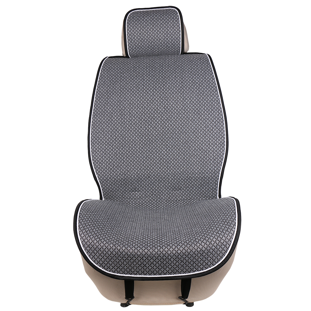 1 Piece Car Front Seat Cover Pad Artificial Linen Automobile Single Cushion O SHI CAR Universal fit for Lada, Buick, Mazda, etc.-in Automobiles Seat Covers from Automobiles & Motorcycles